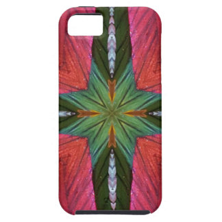 Colorful Rose Green Geometrical Pattern iPhone 5 Covers