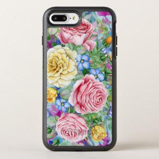 Colorful Roses Illustration OtterBox Symmetry iPhone 7 Plus Case