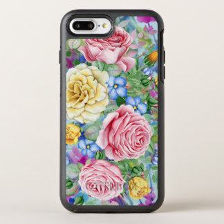 Colorful Roses Illustration OtterBox Symmetry iPhone 8 Plus/7 Plus Case