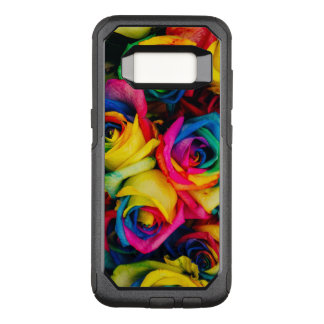 Colorful roses OtterBox commuter samsung galaxy s8 case