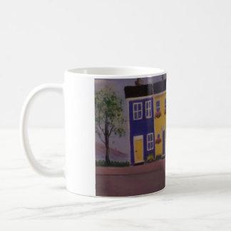 Colorful Row Houses Coffee Mug