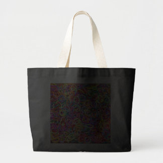 Colorful Rubberbands Canvas Bags