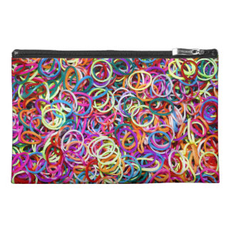 Colorful Rubberbands Travel Accessories Bag