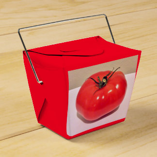 Colorful Ruby Tomato 4Clara Favor Box