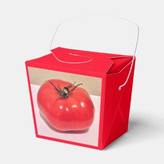 Colorful Ruby Tomato 4Clara Favor Boxes