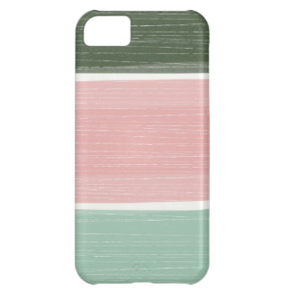 Colorful Rustic Wide Stripes iPhone iPhone 5C Cases