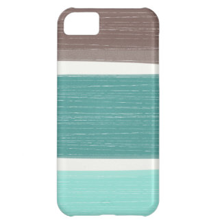 Colorful Rustic Wide Stripes iPhone iPhone 5C Covers