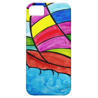 Colorful Sail iPhone 5 Case