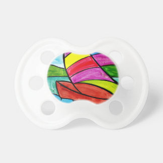 Colorful Sail Pacifiers