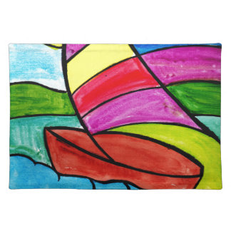 Colorful Sail Placemat