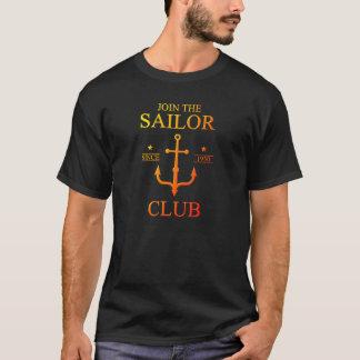 Colorful Sailor club T-Shirt