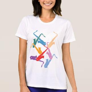 Colorful Saxophones T-Shirt
