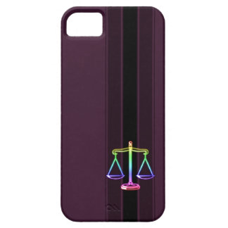 Colorful Scales of Justice | Law Case For The iPhone 5