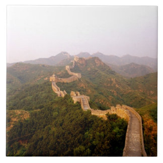Colorful scenic at the great Wall of China in Ceramic Tiles