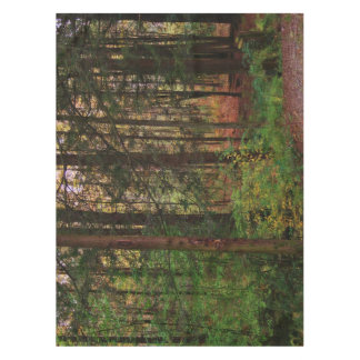 Colorful Scenic Autumn Forest Foliage Tablecloth