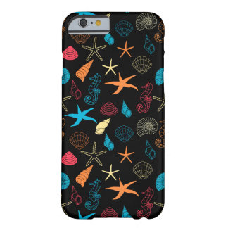 Colorful Sea Creatures Barely There iPhone 6 Case