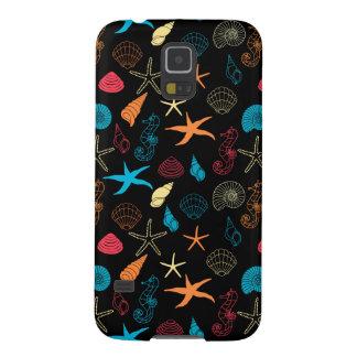 Colorful Sea Creatures Galaxy S5 Case