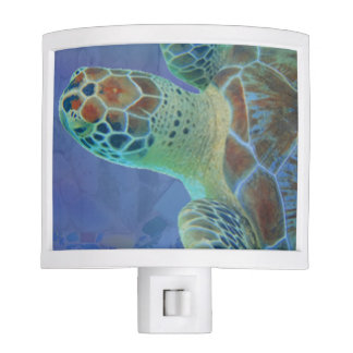Colorful Sea turtle Night Lite