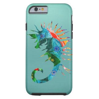 Colorful Seahorse Art  iPhone 6/6s, Tough Tough iPhone 6 Case