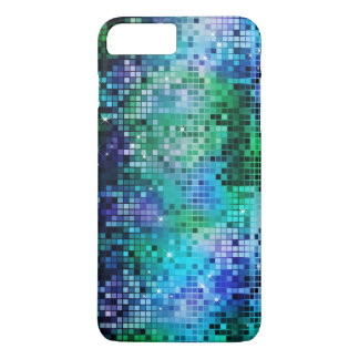 Colorful Sequins Look Disco Mirrors Pattern 5 iPhone 7 Plus Case