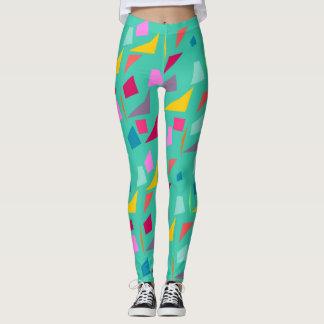 Colorful shapes leggings