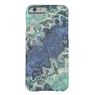 Colorful Shapes Pattern Barely There iPhone 6 Case