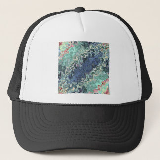 Colorful Shapes Pattern Trucker Hat