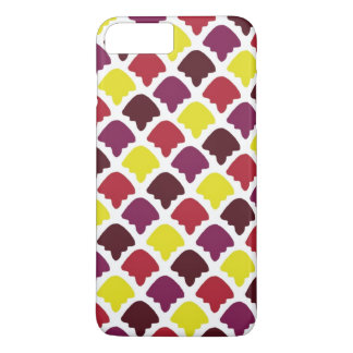 Colorful shapes patterns design iPhone 7 plus case