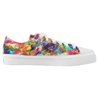 colorful shapes shoes