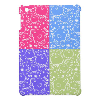 Colorful Sheep Dreams Pattern Cover For The iPad Mini