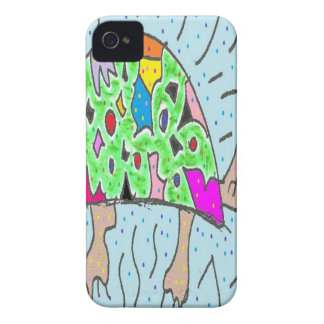 Colorful Shell Turtle iPhone 4 Case-Mate Case