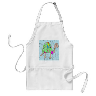 Colorful Shell Turtle Standard Apron