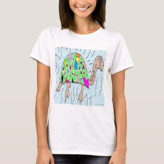 Colorful Shell Turtle T-Shirt