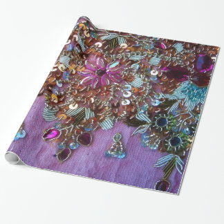 Colorful Shiny Jewlry Wrapping Paper