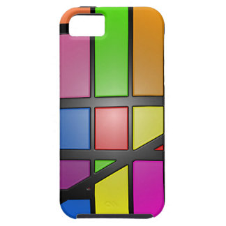 Colorful shiny Tiles Case For The iPhone 5