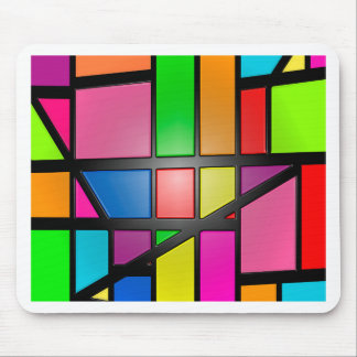 Colorful shiny Tiles Mouse Pad