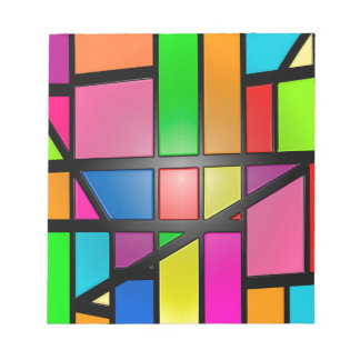 Colorful shiny Tiles Notepad