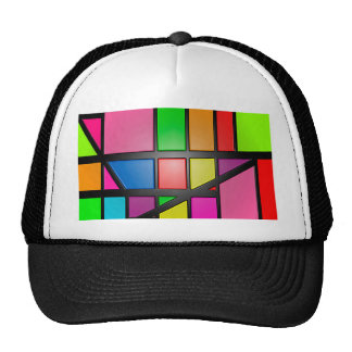 Colorful shiny Tiles Trucker Hat