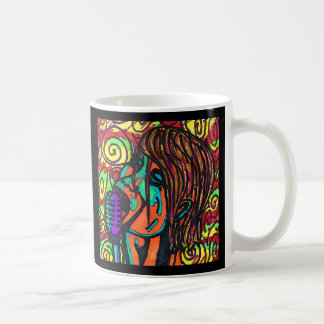Colorful Singer Mug