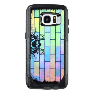 Colorful Skull Bricks OtterBox Samsung Galaxy S7 Edge Case