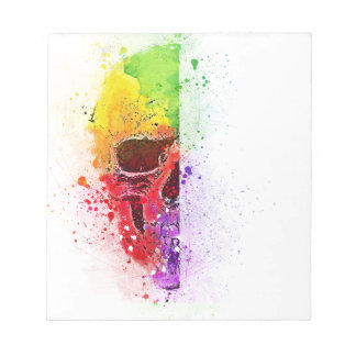 Colorful Skull - Colorful Skull Notepad