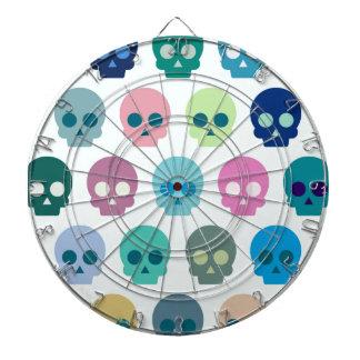 Colorful Skull Cute Pattern Dartboard