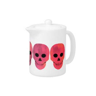 Colorful skull design