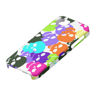 Colorful Skulls iPhone 5 Case