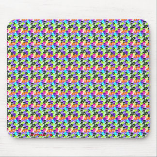 Colorful Skulls Mouse Pad