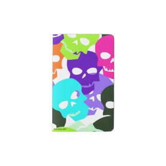 Colorful Skulls Pocket Moleskine Notebook
