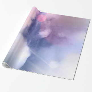 "Colorful Sky Glossy Wrapping Paper, 30"" x 6' Wrapping Paper"
