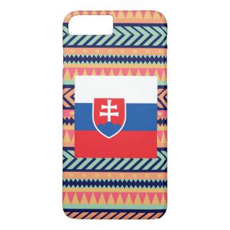 Colorful Slovakia Flag Box iPhone 7 Plus Case