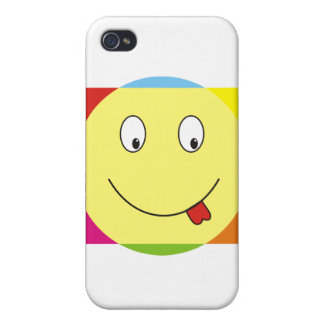 Colorful smile iPhone 4 cases