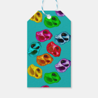 Colorful snails gift tags